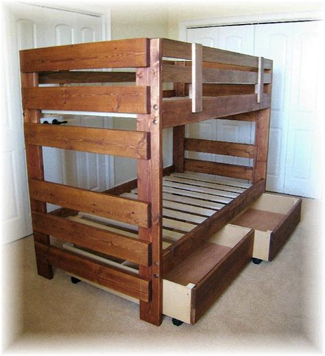 plans for bunk bed plans for wood bunk beds discover woodworking projects