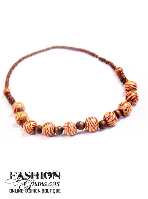 wooden beaded necklaces assorted wooden beaded necklace fashionghana