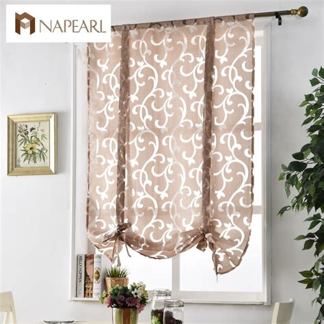 curtains for the kitchen aliexpress buy kitchen curtains window