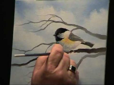 acrylic painting ideas advanced wilson bickford chickadee painting techniques
