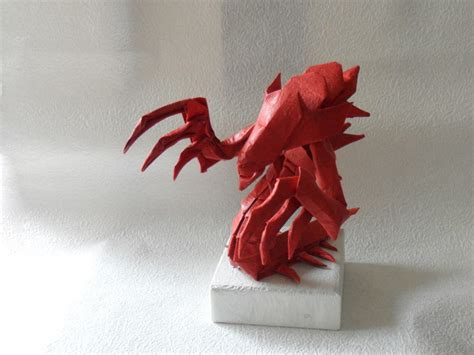 origami hydralisk world of warcraft starcraft and other origami