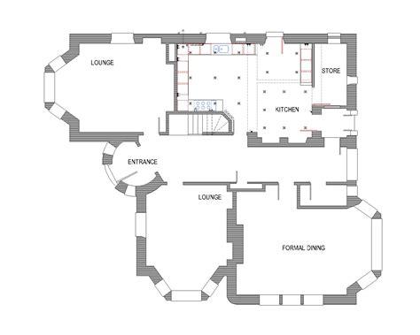 floor plan of modern family house modern family house plans 4721