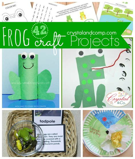 frog craft project 42 frog craft projects