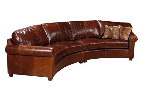 curved leather sofas curved sofas urbancabin curved