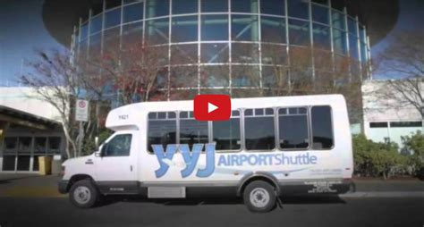 Airport Shuttle by Yyj Airport Shuttle Bc Airport Transportation