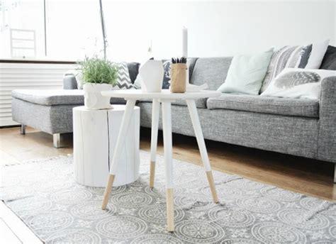 Boomstam Tafel Wit by Interieur Natuurlijk Wonen Met Een Boomstam Tafel Of Tak