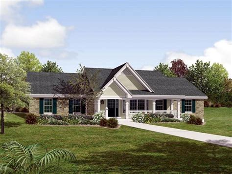 traditional ranch house plans country ranch southern traditional house plan 87872