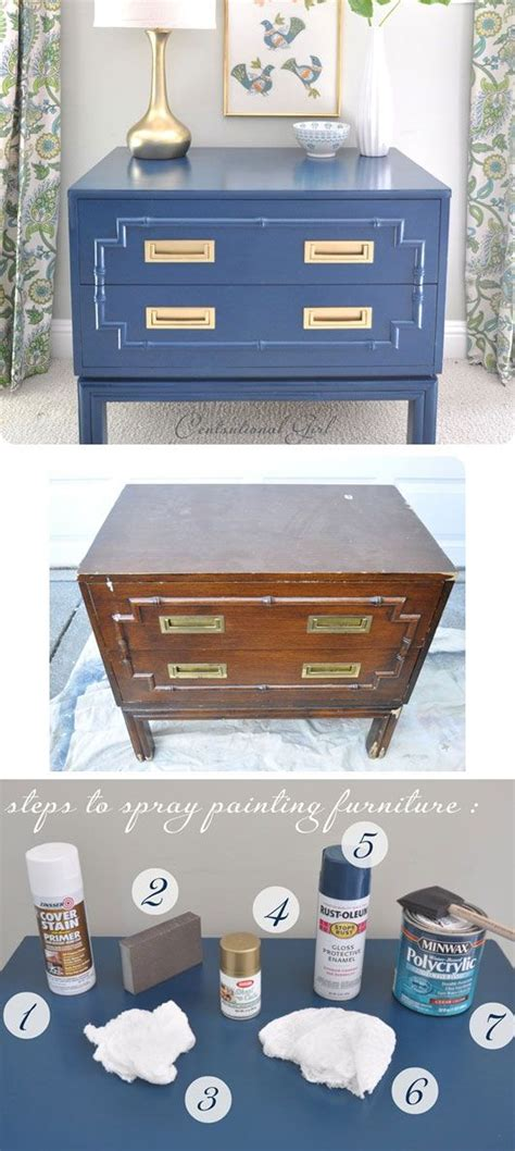 spray painting furniture diy spray painting furniture step by step
