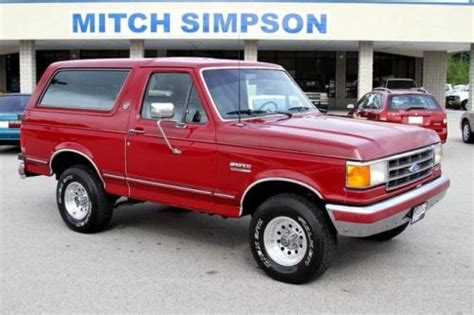 auto body repair training 1990 ford f series windshield wipe control find used 1991 ford bronco silver anniversary very nice only 98k miles no reserve in cleveland
