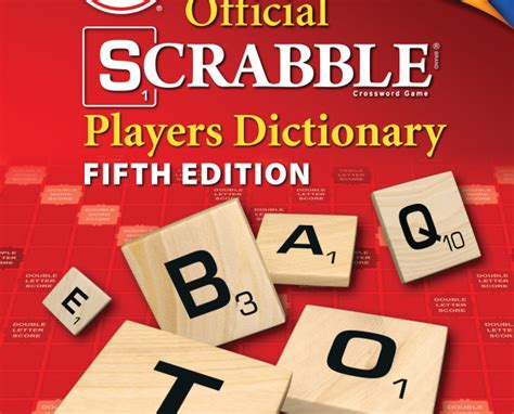scrabble players dictionary 5th edition scrabble adds 5 000 new acceptable words inquirer news