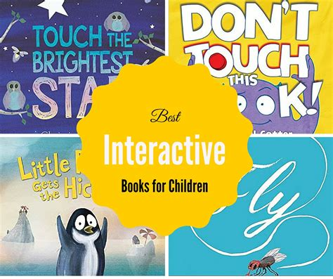 interactive picture books the best interactive books for