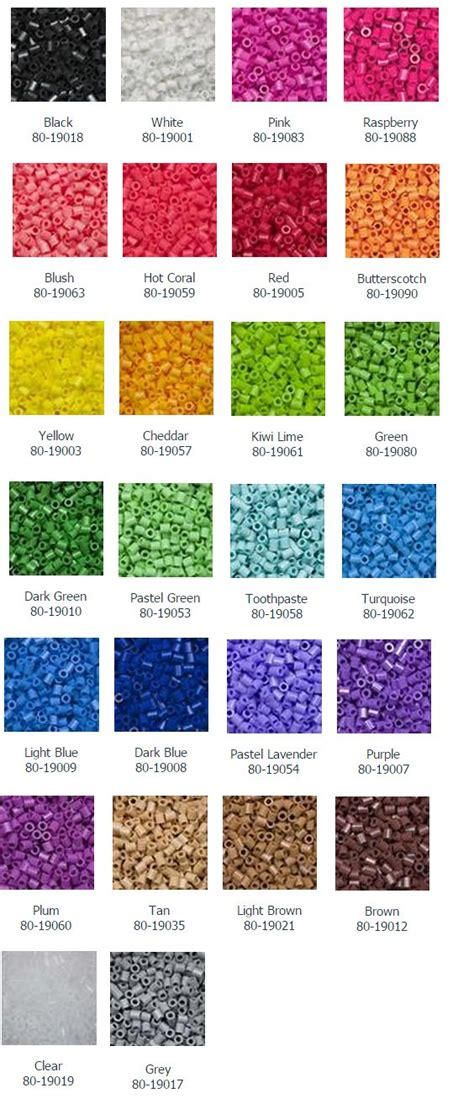 perler bead color palette 37 best images about perler tips on middle on