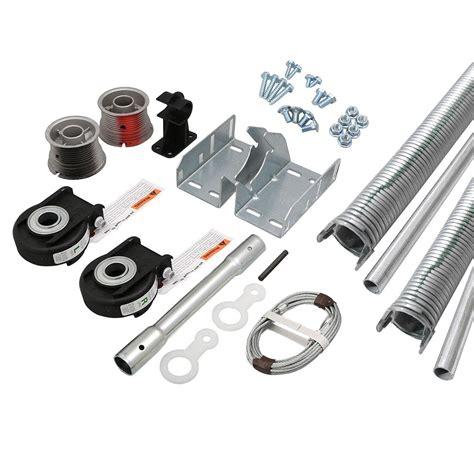 clopay garage doors parts clopay ez set torsion conversion kit for 16 ft x 7 ft