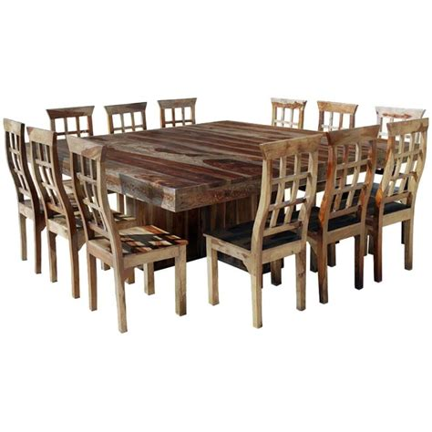 square dining room sets dallas ranch large square dining room table and chair set