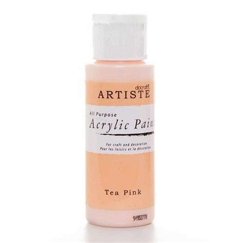 acrylic paint how to make pink artiste acrylic paint tea pink doa763220 paperpads nl