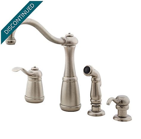 pewter kitchen faucets rustic pewter marielle 1 handle kitchen faucet gt26 4nee pfister faucets