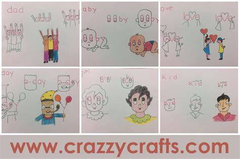 kid friendly crafts friendly drawings step by step tutorial crazzy