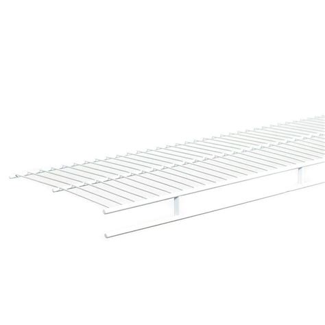 Closetmaid 3 Foot Wire Utility Shelf Closetmaid Shelf And Rod 6 Ft X 16 In Ventilated Wire