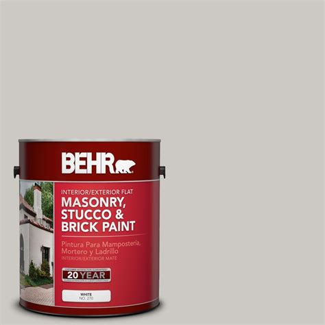 home depot masonry paint colors behr premium 1 gal ms 79 silver gray pebble flat