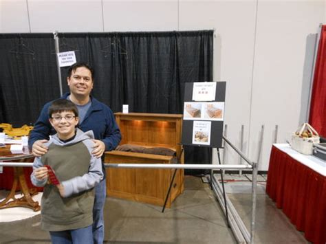 portland woodworking show arts and crafts library desk 1 building legs cutting
