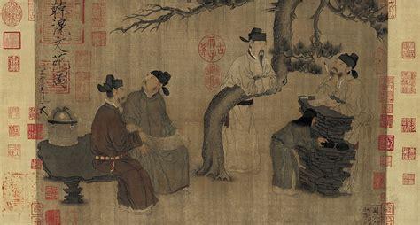 chino painting in china figure painting painting china museum