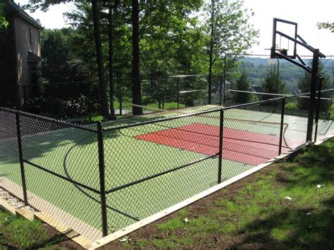 backyard court family sport courts convenient backyard courts sport