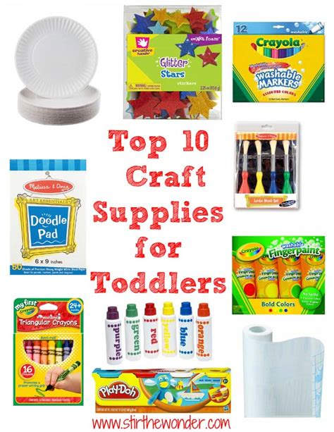 arts and crafts stores for top 10 craft supplies for toddlers stir the