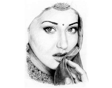 Pencil Artwork Images by Pencil Arts Of Indian Actors Indusladies