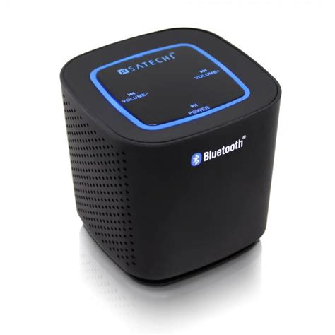 Satechi Audio Cube Bluetooth Speaker flaunts a boxy design
