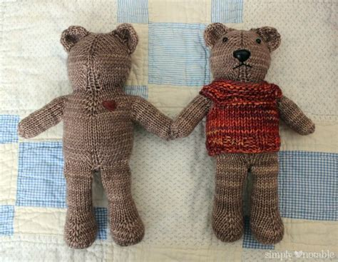 free patterns for knitted teddy bears 279 best images about dolls and clothing on