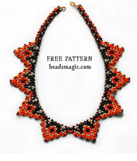patterns for jewelry best seed bead jewelry 2017 free pattern for necklace
