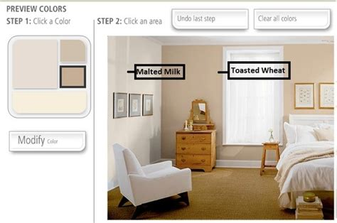 behr paint color malted milk behr toasted wheat accent wall with malted milk color for
