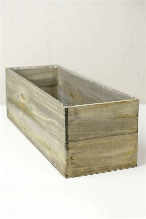 planter box liner woodland planter box with liner 18 x 6 5