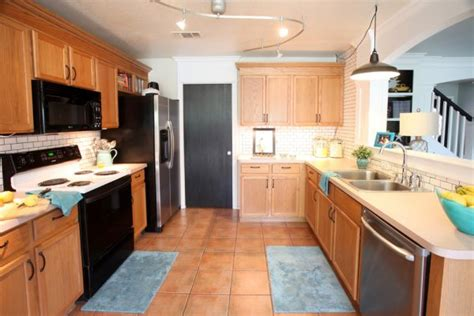 ideas for updating kitchen cabinets kitchen floor ideas with oak cabinets house furniture