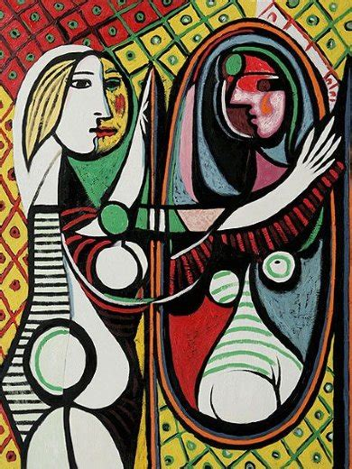 picasso paintings described before a mirror ii 28157 painting pablo picasso
