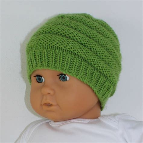 simple baby beanie knitting pattern 5 easy baby beanies circular knitting pattern103