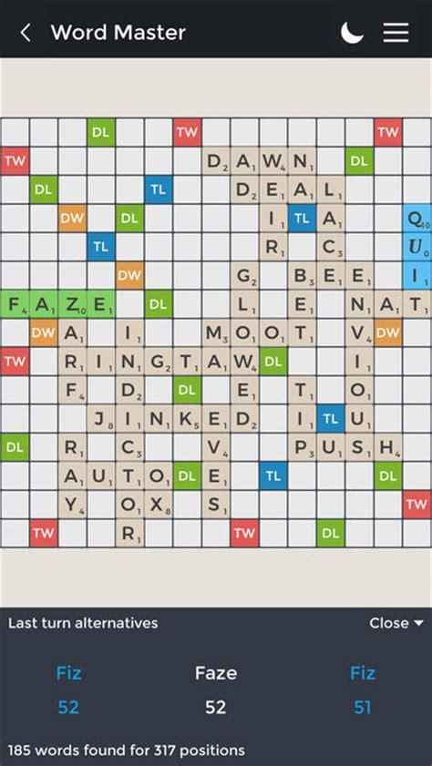 oe scrabble word word master pro practical scrabble like on the app