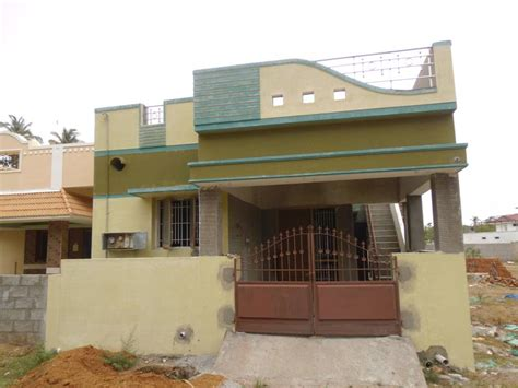 600 Sq Feet 2 bhk individual house home for sale at erode rei324768