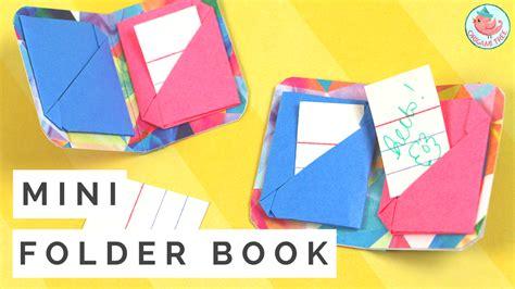 origami mini mini origami book tutorial 187 origamitree