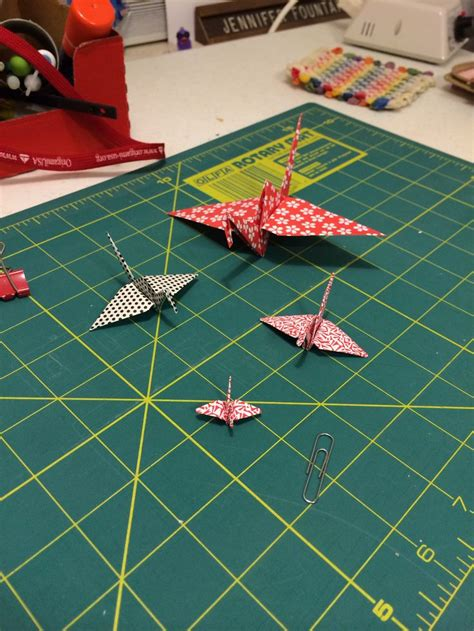 largest origami crane pin by on origami