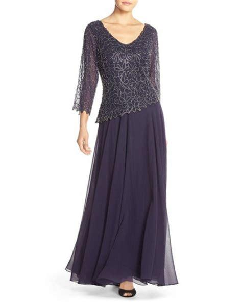 jkara beaded chiffon gown new j kara embellished beaded v neck chiffon gown dress
