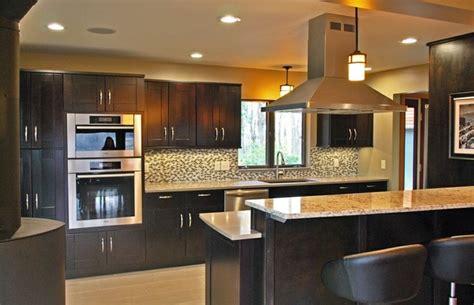 mocha kitchen cabinets mocha shaker kitchen cabinets kitchen by rta cabinet store