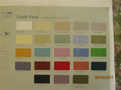 chalk paint uk colours modern country style sloan week colour mixing