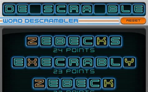 descrambler scrabble word descrambler coach for scrabble and words with