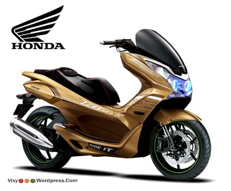 Pcx 2018 Gold Modifikasi by Honda Pcx 125 Pcx 150 Modifikasi Pcx Beat Vario Vixy182