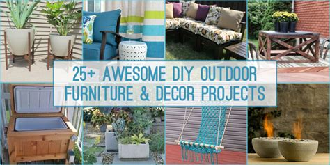 diy outdoor decor remodelaholic 25 diy outdoor furniture and decor projects