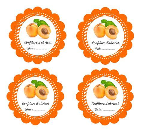 etiquettes imprimables pour pot de confiture d abricot fait maison 233 tiquettes