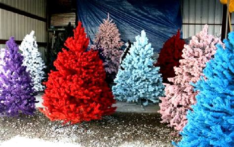 colorful artificial trees tree simple gift that may inspire you