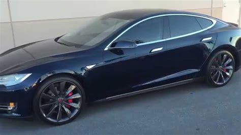 2014 Model S by 2014 Tesla Model S Blue P85 At Cars Las Vegas