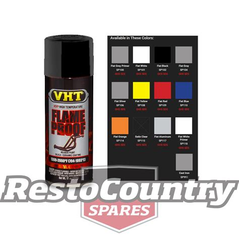 spray painting exhaust vht high temperature spray paint flameproof flat black